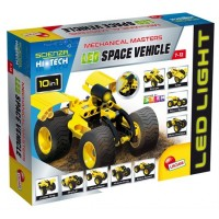 HI TECH CONSTR. MINI LED SPACE VEHICLE (65868)