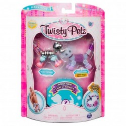 Spin Master – Twisty Petz Three Pack Figures – Razzle Elephant Pupsicle Puppy (20103204)